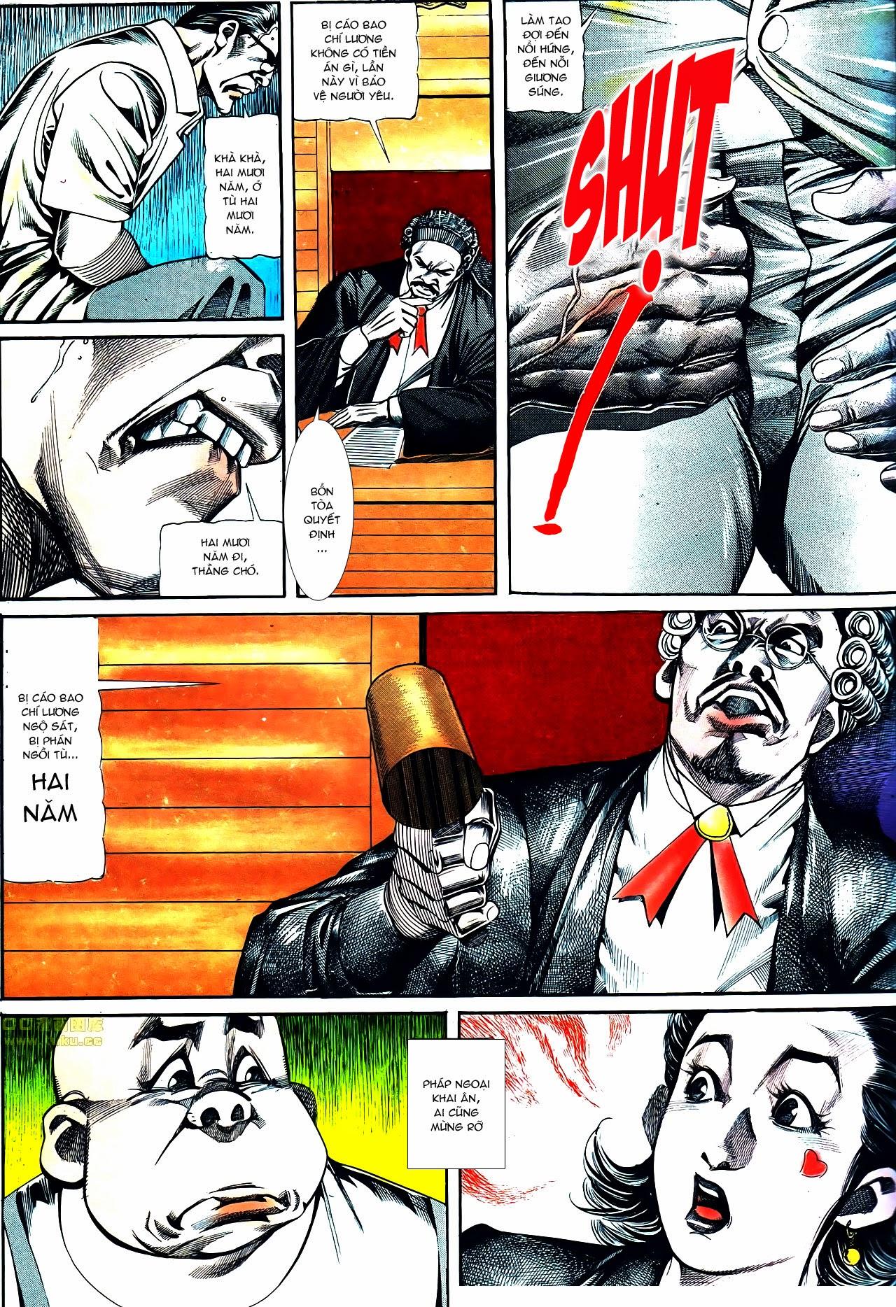 Người Trong Giang Hồ chapter 119: tù chung thân trang 25