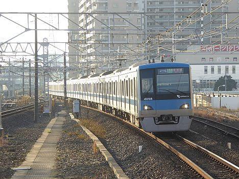 常磐線 各駅停車 取手行き2 小田急4000形