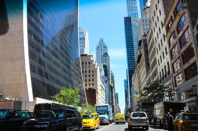 Manhattan na primavera
