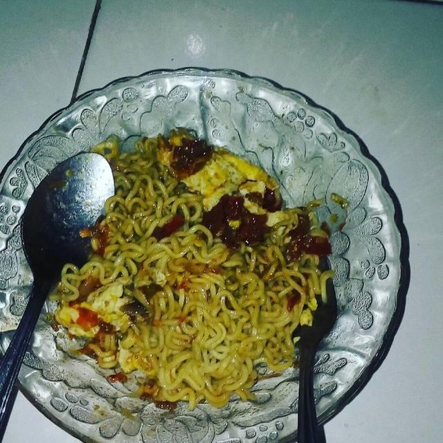 Resep indomie goreng sambal terasi ala rumah makan ciwidey