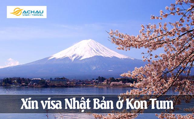 Xin visa Nhật Bản ở Kon Tum