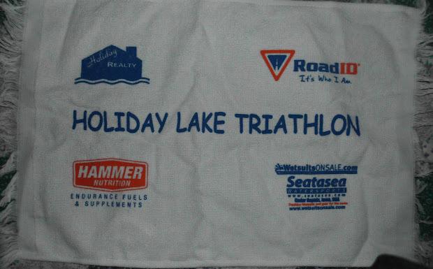 Waist Management 2012 Holiday Lake Triathlon-brooklyn Iowa
