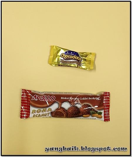 Apollo Roka Peanut dan Yuta Choco date with almond
