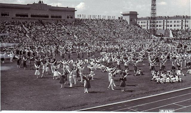 19 июля 1970 года. Рига. Праздник песни. Большой праздничный концерт