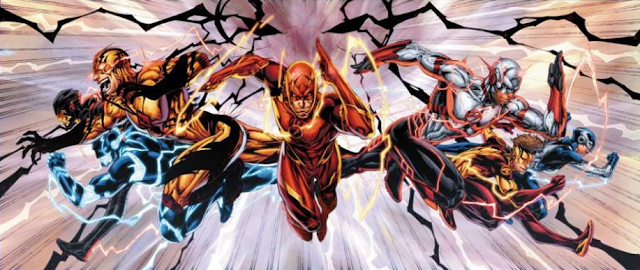 Speed Force Lightning Colors Explained