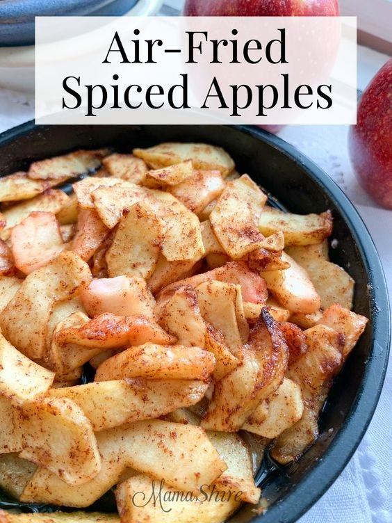 Air-Fried Spiced Apples