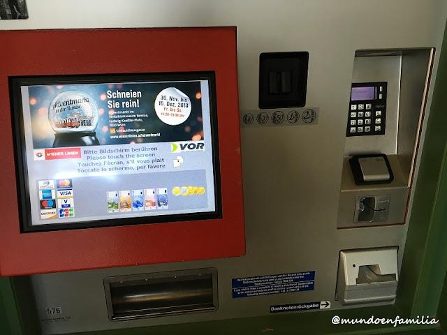 Máquina de venta de billetes
