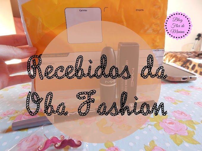 Recebidos da Oba! Fashion.