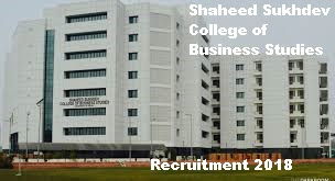 Shaheed Sukhdev College of Business Studies Recruitment- bestjobs