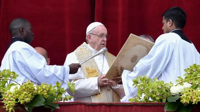 """Papa Francisco pide el fin del """"exterminio"""" en Siria"""