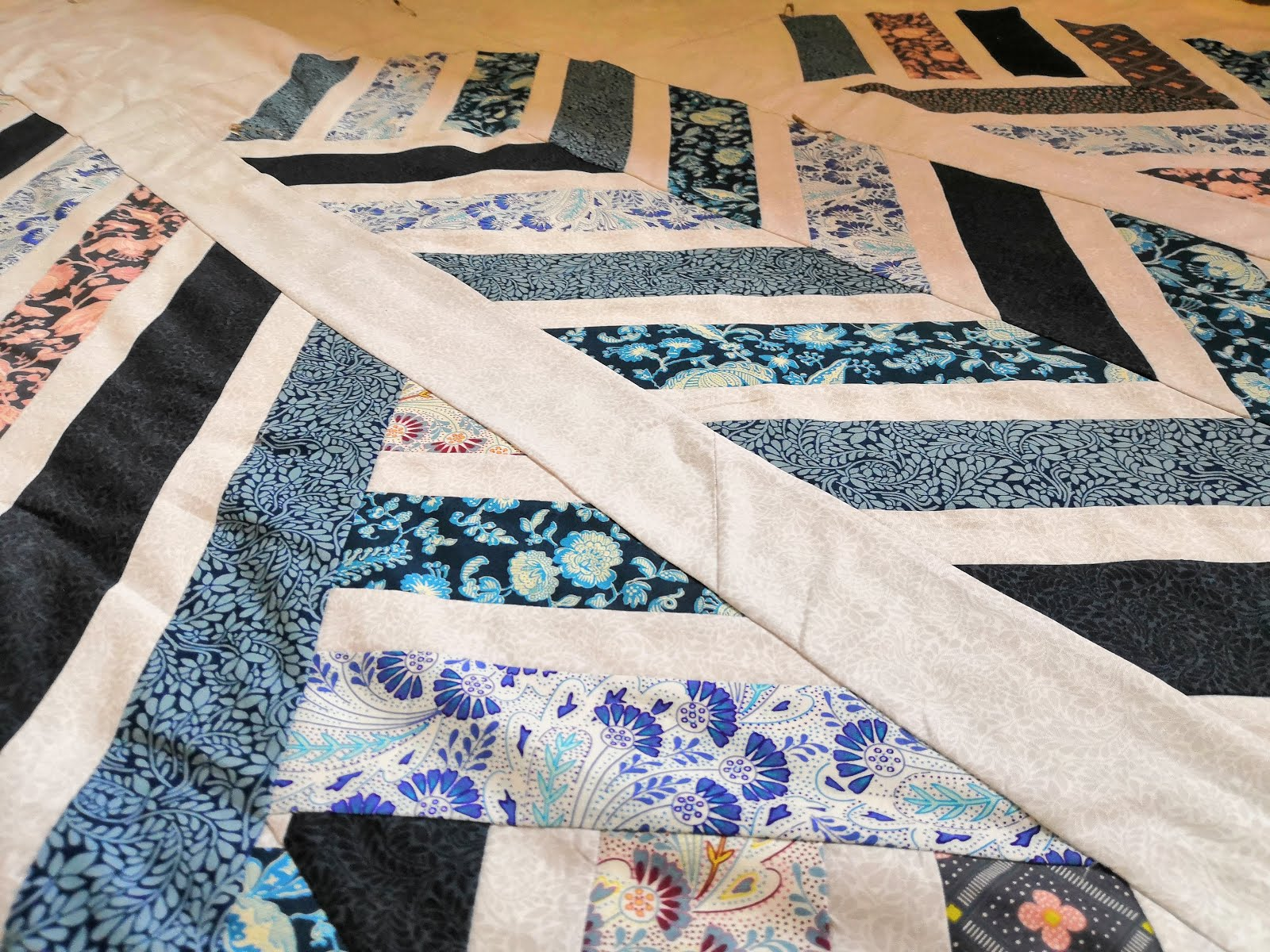 Quilting in Quarantine - piecing together a quilt top