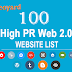 High PR web 2.0 websites to get free backlinks - 100+ Sites list 2016 Updated