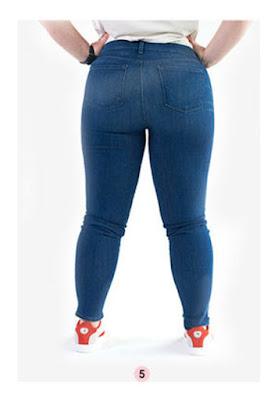 Слишком маленькие карманы на джинсах на полной женщине