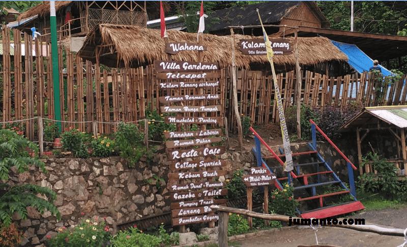 wahana wisata villa gardenia lampung