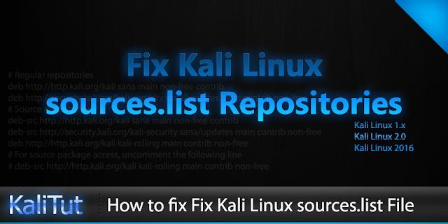 repository atau souces.list kali linux lengkap 2017