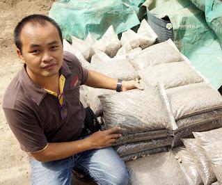 ขาย ดินถุง ดินปลูกต้นไม้ ยี่ห้อไหนดี ดินหมักใบกระถิน คุณภาพดี