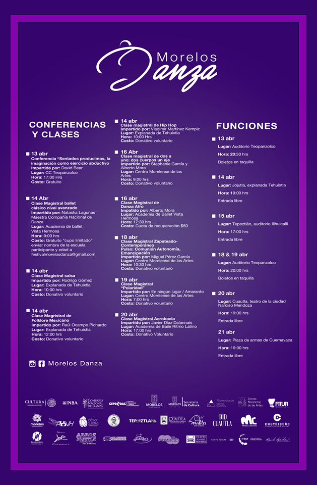 festival morelos danza 2018