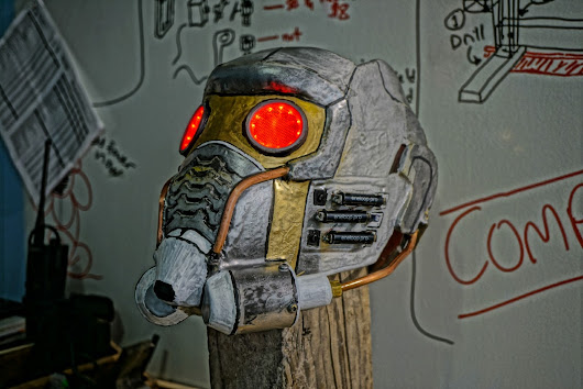 Halloween Cosplay Build - Star Lord, the making of