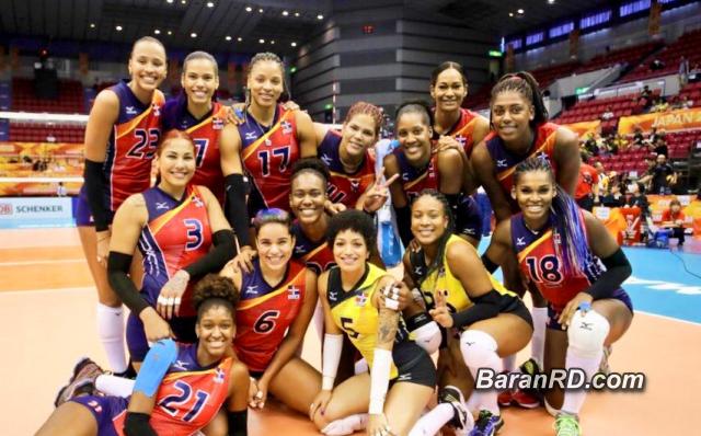 Reinas del Caribe consiguen primer triunfo en Mundial de Voleibol