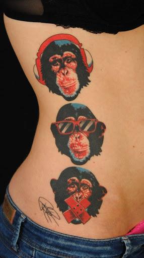 Visão moderna sobre os três macacos sábios