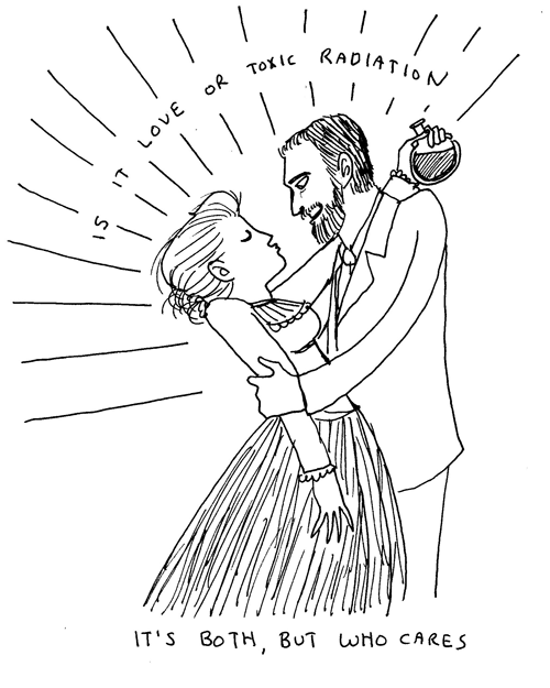 Marie and Pierre Curie by Kate Beaton.