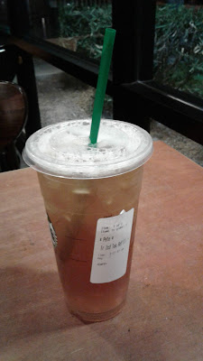 Starbucks Trenta Iced Green Tea Refill