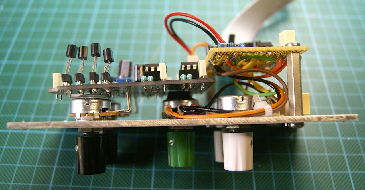 Growing Your Modular Synthesizer For Dummies Guitar Effect In A Circuit Final Module On The Left Pedal Kit Right Adaptation Pcb