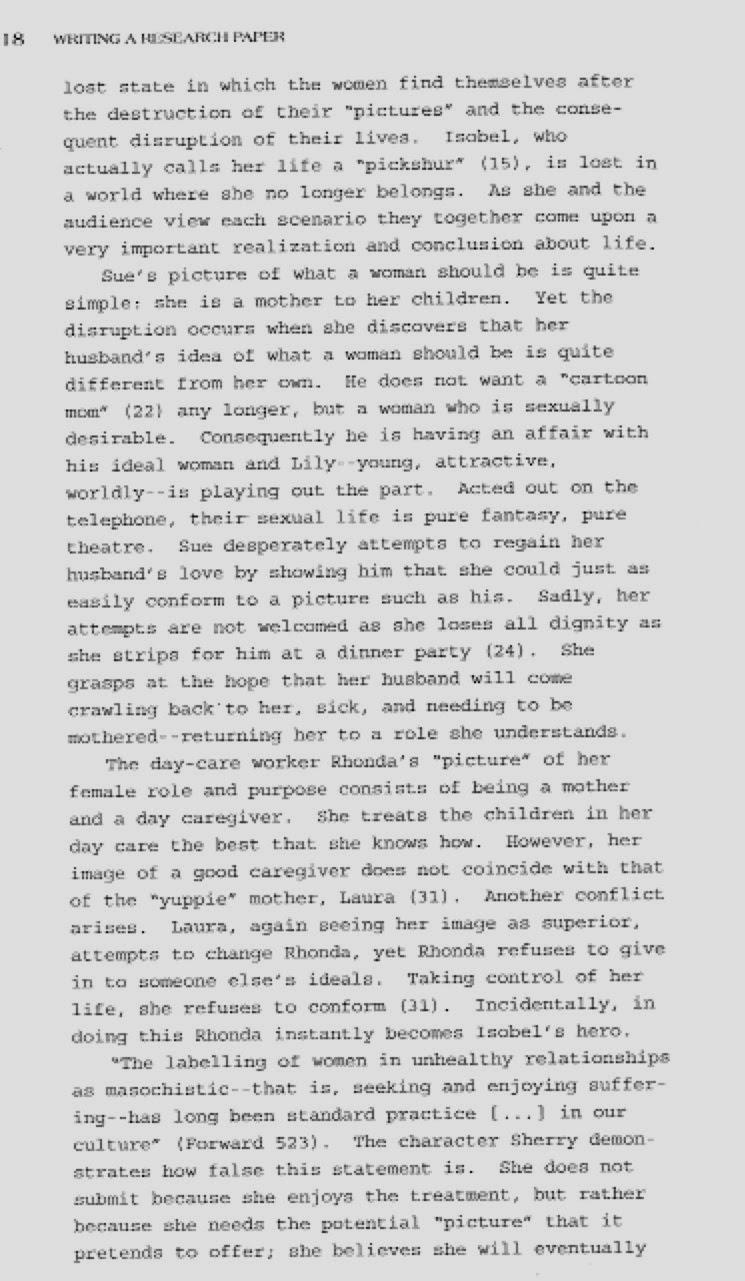 Personality profile essay