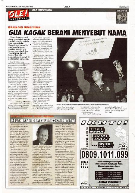 LIGA INDONESIA NURALIM SOAL PEMAIN TERBAIK