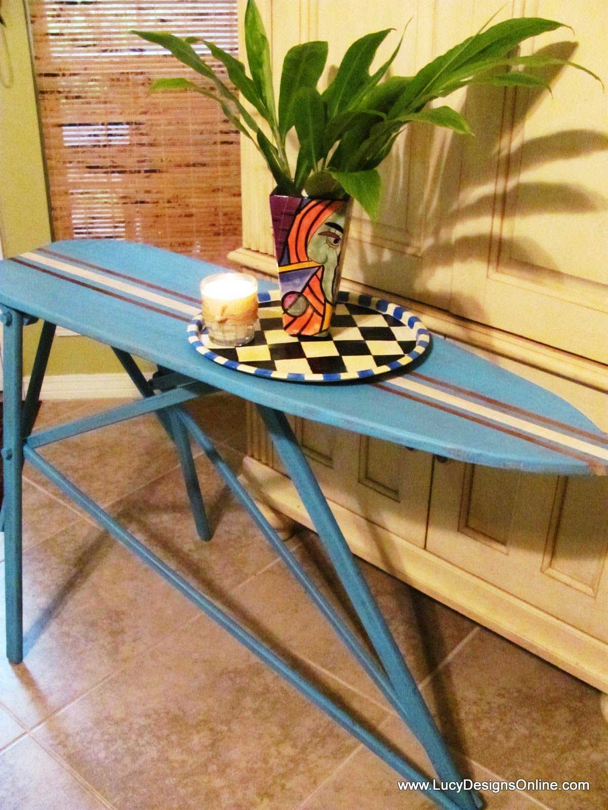 Ironing Board To Surf Board Table Lucy Designs