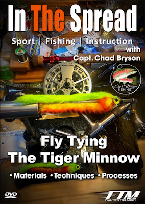 in the spread fishing videos fly tying chad bryson