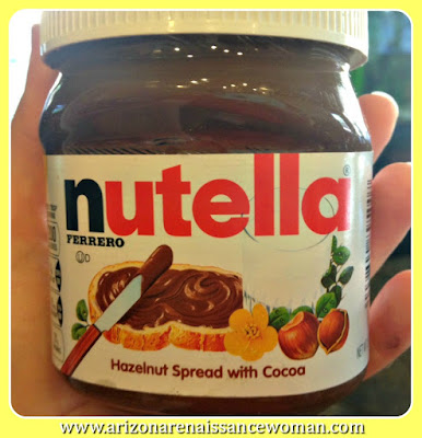 Nutella Hazelnut Spread with Cocoa for Banana Muffins