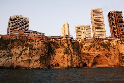 Rocha dos Pombos – Beirute