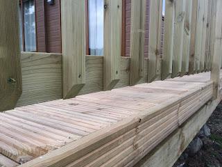 Decking railings