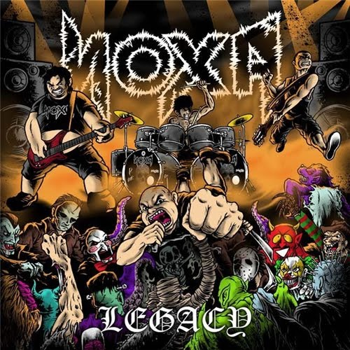 Album Review (Download) : Noxa - Legacy (2011 Hardcore | Grindcore )