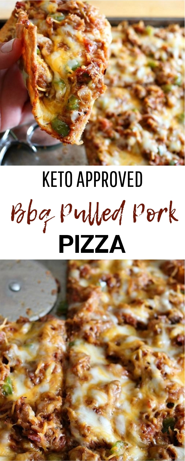 Keto Fathead BBQ Pulled Pork Pizza #keto #healthy #lowcarb
