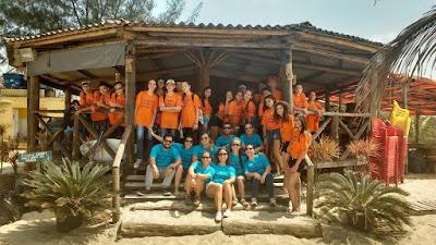 Equipe do Programa Escola da Família participa do Dia Mundial de Limpeza de Praias 2017