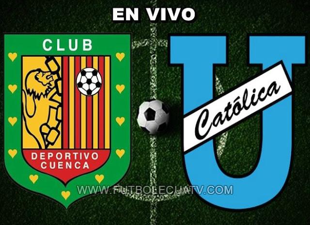 Deportivo Cuenca y Universidad Católica se miden en vivo a partir de las 19:15 horario de nuestro territorio a realizarse en el estadio Alejandro Aguilar Serrano aperturando la fecha once de la Serie A Ecuador, con arbitraje principal de Jefferson Macías siendo emitido por el canal autorizado GolTV.