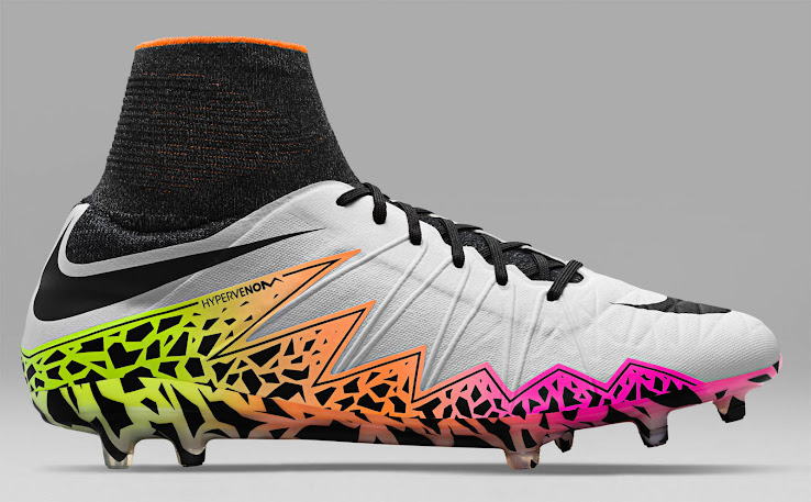 fa72622dc Nike Hypervenom Radiant Reveal Pack 2016 Boots - White   Black   Total  Orange   Volt. +1. 2 of 2. 1 of 2