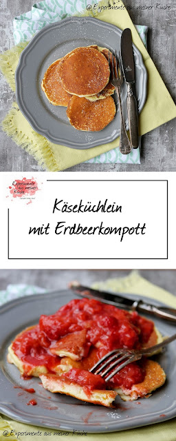 Käseküchlein mit Erdbeerkompott | Rezept | Essen | Weight Watchers