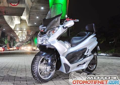 Motorcycle Modification  Change Honda PCX 125 Be More Lucrative ~ Real Auto Tips