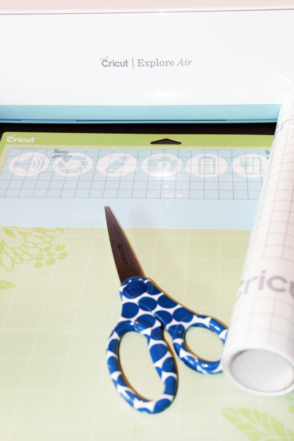 Using Cricut Transfer Tape for Custom Icon Labels