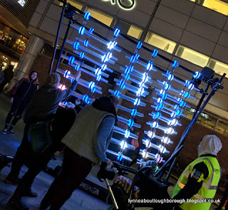 The illumaphonium Southampton light show