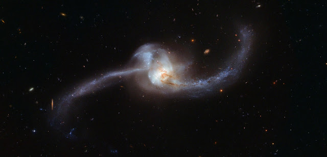 Colliding Galaxies Arp 243