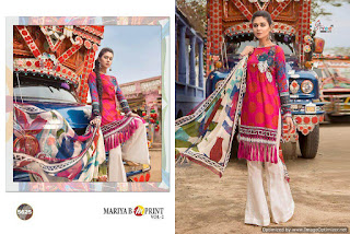 Shree Fab Mariya b m print vol 2 Pakistani Suits wholesale