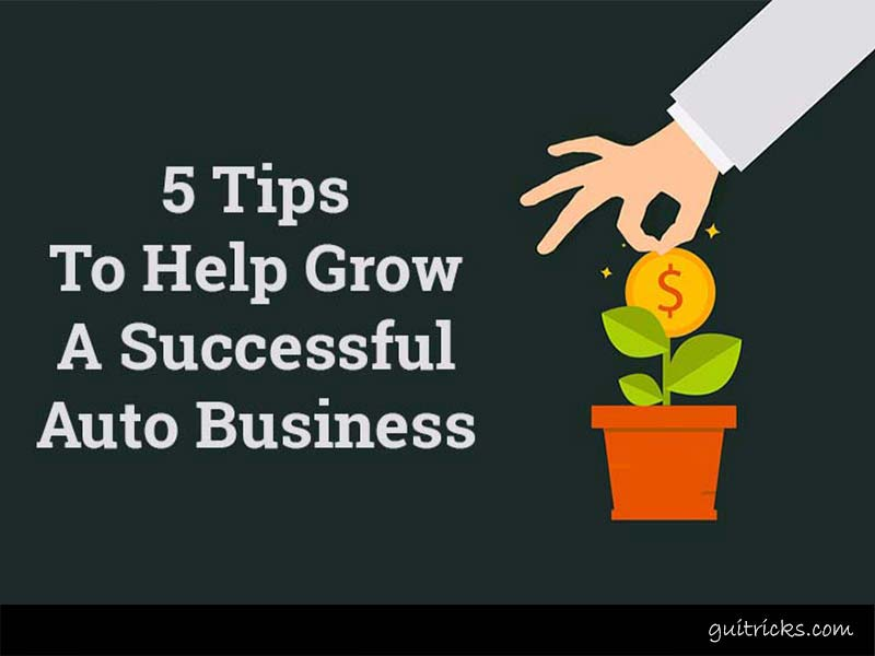 Grow Auto Business