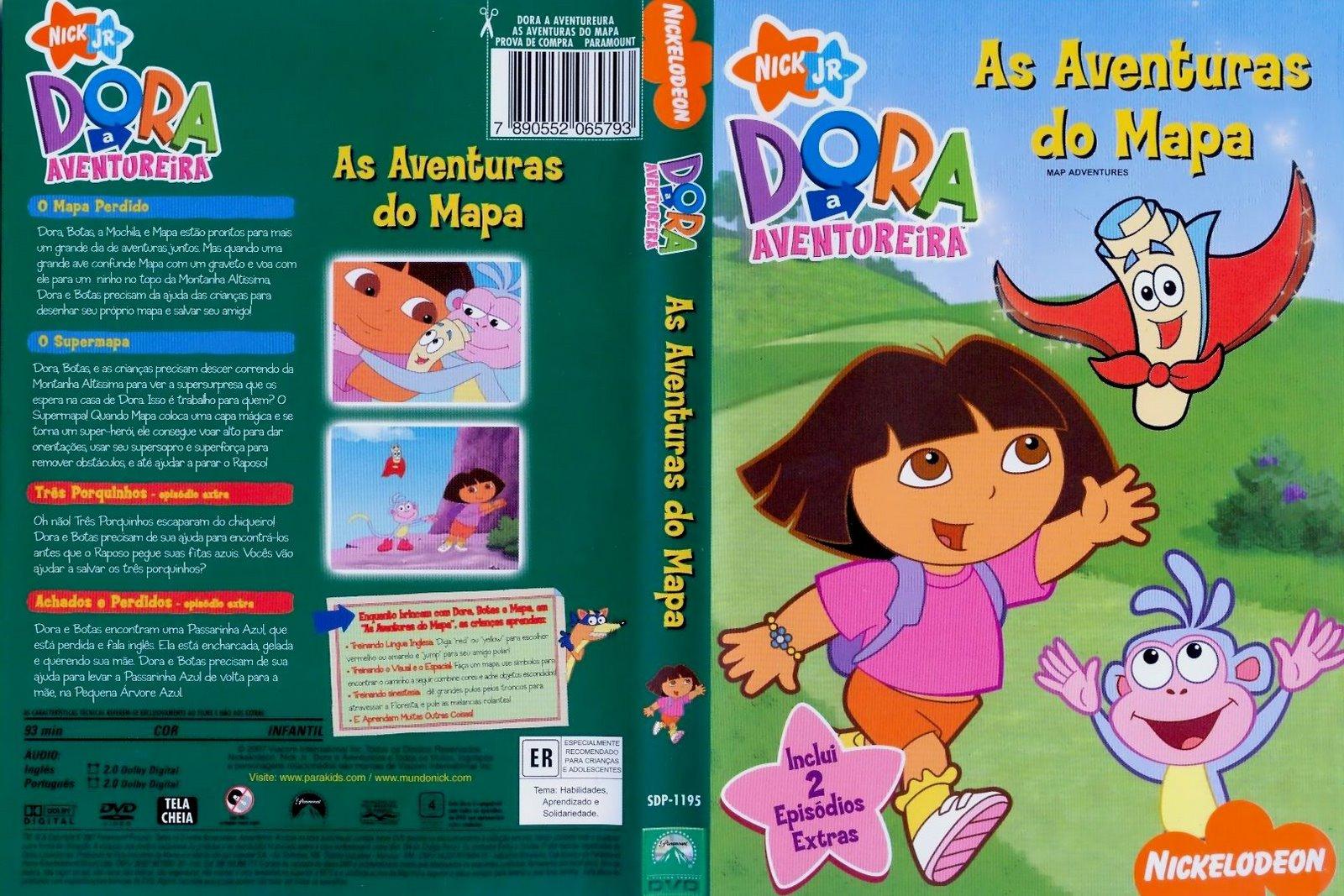 Desenhos De Dora Aventureira Em Portugues Completo