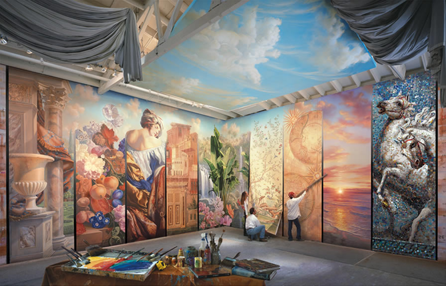 Beautiful Mural Paintings For Inspiration Fine Art and You