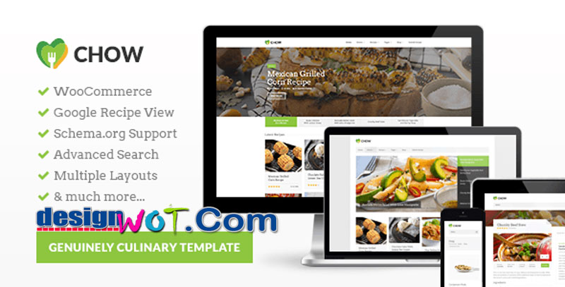 CookingPress - Recipe and Food WordPress theme