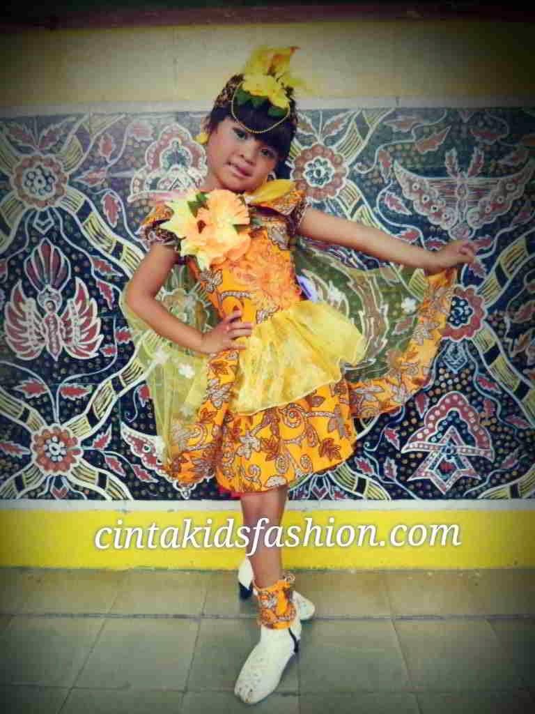 Konsep Baju Batik Cinta Lingkungan Borong Juara Lomba